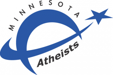 Minnesota Atheists' shooting star logo.
