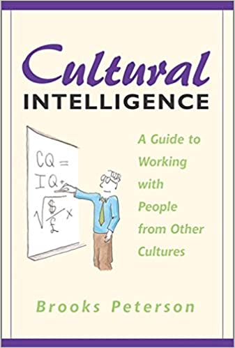 Cover of Cultural Intelligence, featuring cartoon of man drawing on a chalkboard.