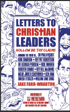 Cover of Letters to Christian Leaders, featuring several black and white caricatures.