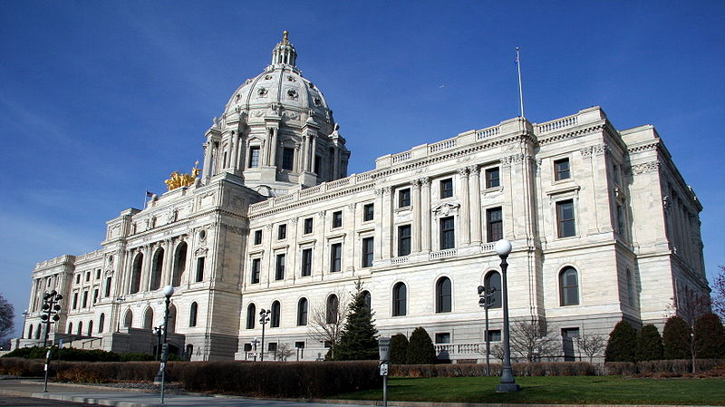 Photo of the MN capitol.