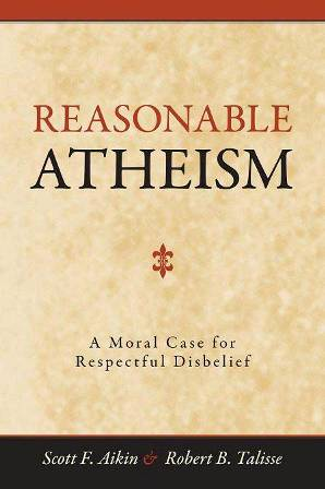 Text cover of Reasonable Atheism.