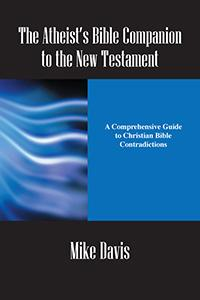 Cover of Atheists Bible Companion, mostly text.