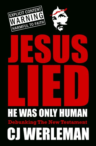 Cover of Jesus Lied with warning statement.