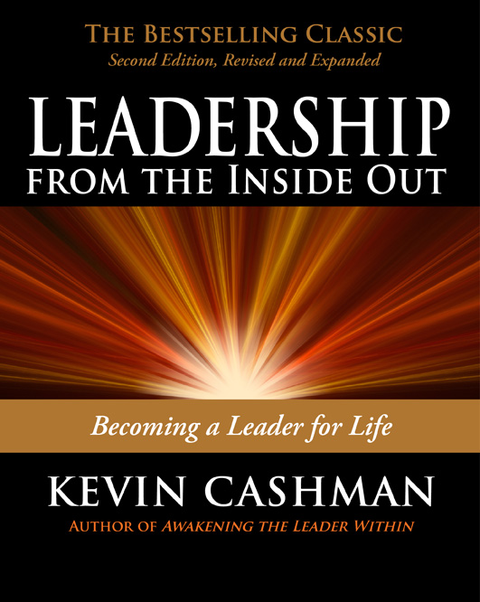 Cover of Leadership, featuring radiating rays of light.
