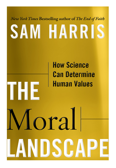 Text cover of The Moral Landscape.