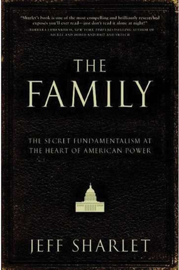 Cover of The Family, featuring a tiny icon of the U.S. Capitol.