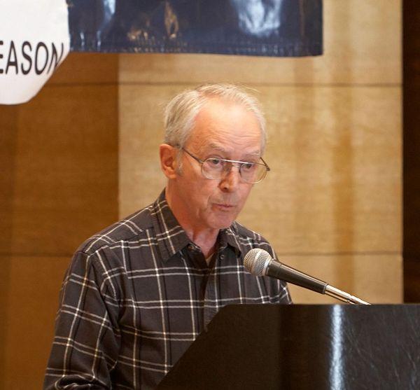 Speaker at Day of Reason in 2013.