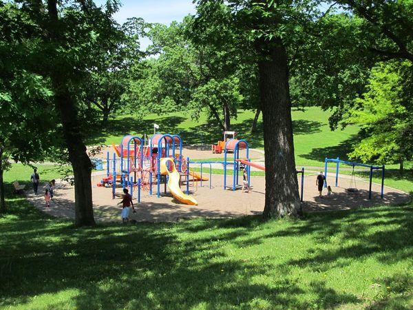 Photo of kids at playground.