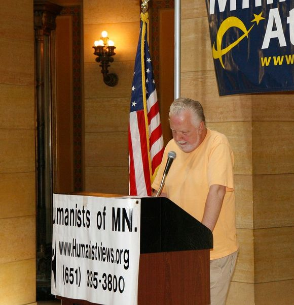Speaker at Day of Reason in 2009.